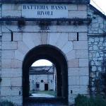 ingresso alla parte bassa del forte