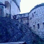 Ingresso alla parte del forte dove è ospitato il museo