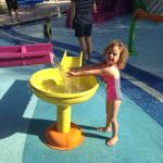 Fun in the new water park!