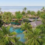 Aerial View at Legian Beach Hotel