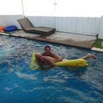 Best private pool!  Large & Deep!