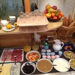 Breakfast buffet selection: something for everyone