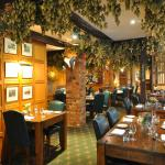 Fuggles Restaurant is named after the Local Hops that hang from the ceiling,