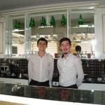 Mr. Mert Karatas and Enes AKA the servers