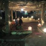 Launge & Relaxation Area At Night