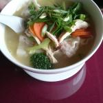 Pho Tai and Wong Tong Soup