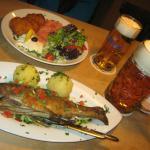 Trout - dinner menu
