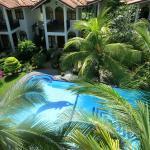 die schönen kleinen Häuser des Hotels