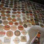 Beer mat collection Jardin Bavaria  |  Avenida Norte 49, Antigua 03001, Guatemala