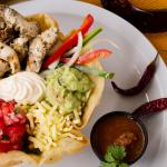 TACO SALAD- choose from our fresh ingredients.Fresh lettuce, pico de gallo, guacamole, and much