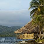 Overwater cabin