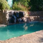 pool and picnic/braai area