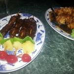 Choo Choos and Sesame Chicken..Both Delicious