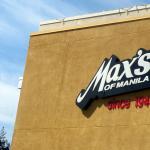 Max's Restaurant, Milpitas, Ca