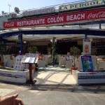 New Colon beach