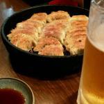 餃子とビール