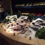 huge variety of fresh fish