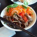 Spicy Beef Salad!! Yummmmmmmmm :)