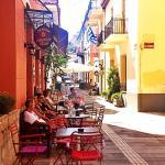 Cafe at Pension Omorfi Poli
