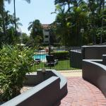 Nice outlook and access to pool area.