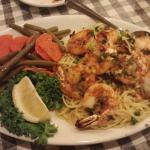 Shrimp dinner, March 2015