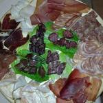 Various types of deli meats produced here.
