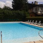 La piscine en été