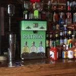Patrón machine ... Chills to the perfect temperature.