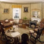 One of the best preserved 19th century parlors in New England