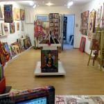 inside the galerie