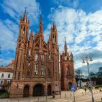 Собор Св. Анны - самый красивый в Литве