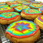 Our Psychedelic Swirl cookies taste as good as they look!