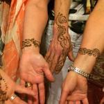 Henna display