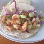 Shrimp tacos DELICIOUS