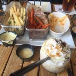 Trio of fries
