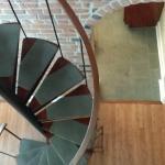 Duplex 205 staircase