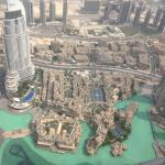 View from higher up in the Burj Khalifa