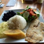 Fish Casada plate