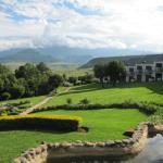 A view towards Drakensberg Mountains