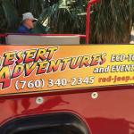 Fun jeep tours but go in am