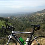 Full carbon Orbea with Ultegra rented from Santa Barbara Fitness Tours