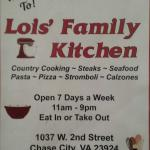 Lois' Kitchen