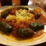 Vegetarian dolmatakia