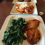 Veal Parm with rapini