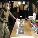 Interesting character at the bar