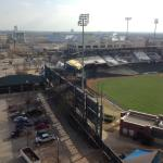 view of Chickasaw Bricktown Ballpark