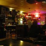 Hostel bar.