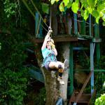 Zipping through Antigua