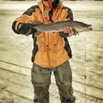 A Tupper Lake Pike in March
