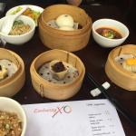 Just some of the dishes offered on the yum cha banquet!